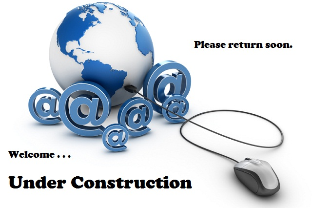 Welcome! This site is under construction. Please come back soon.